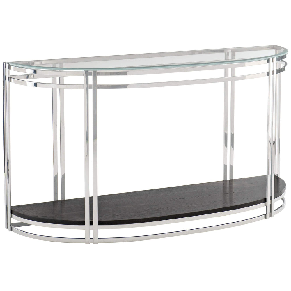 Caden Demilune Console Table - Furniture - Accent Tables - High Fashion Home