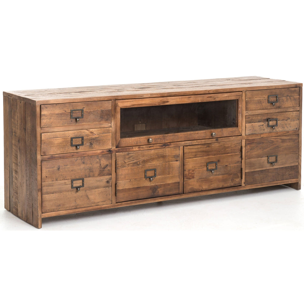 Hughes Media Console, Bleached Pine - Furniture - Storage - Media