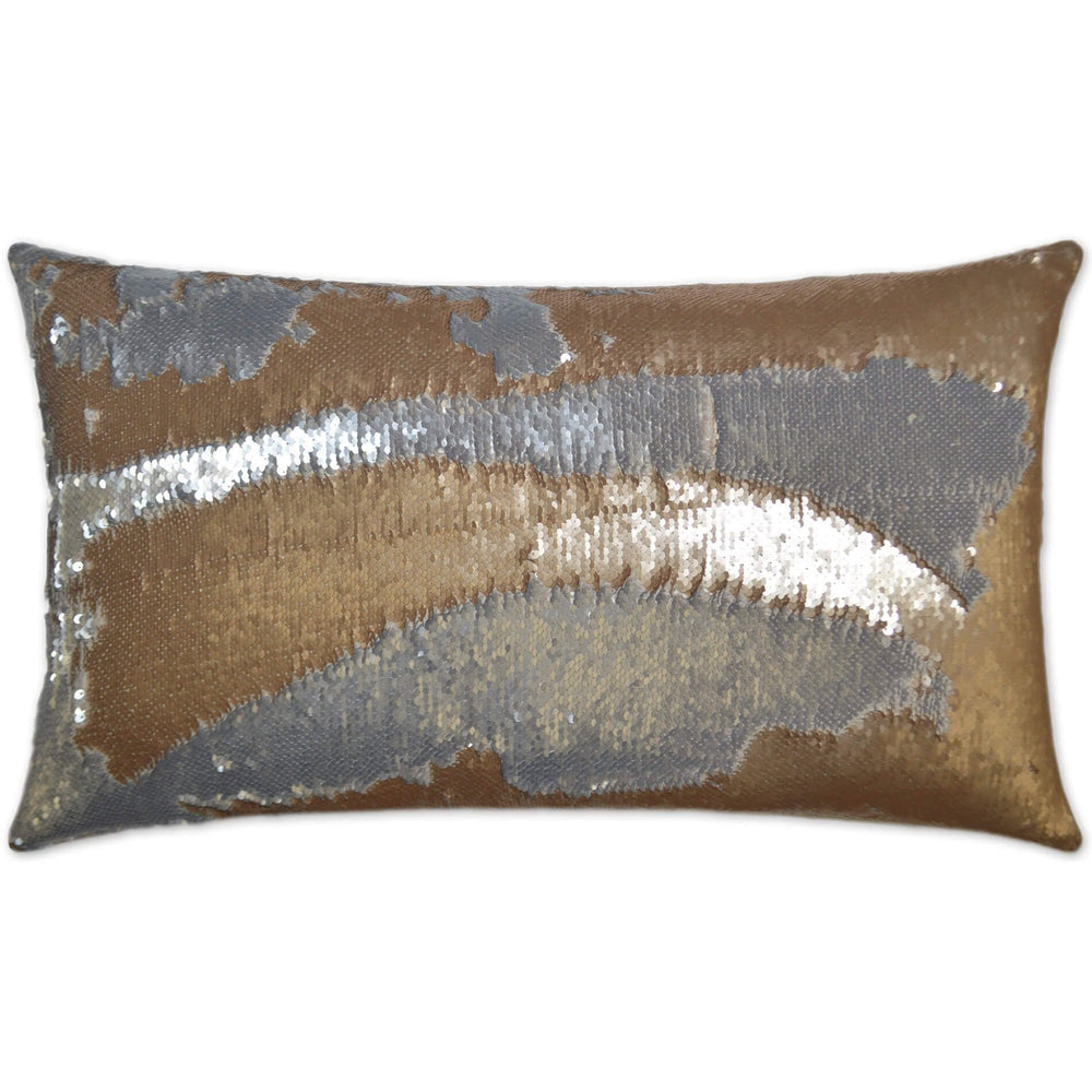 Hylee Lumbar Pillow, Gold