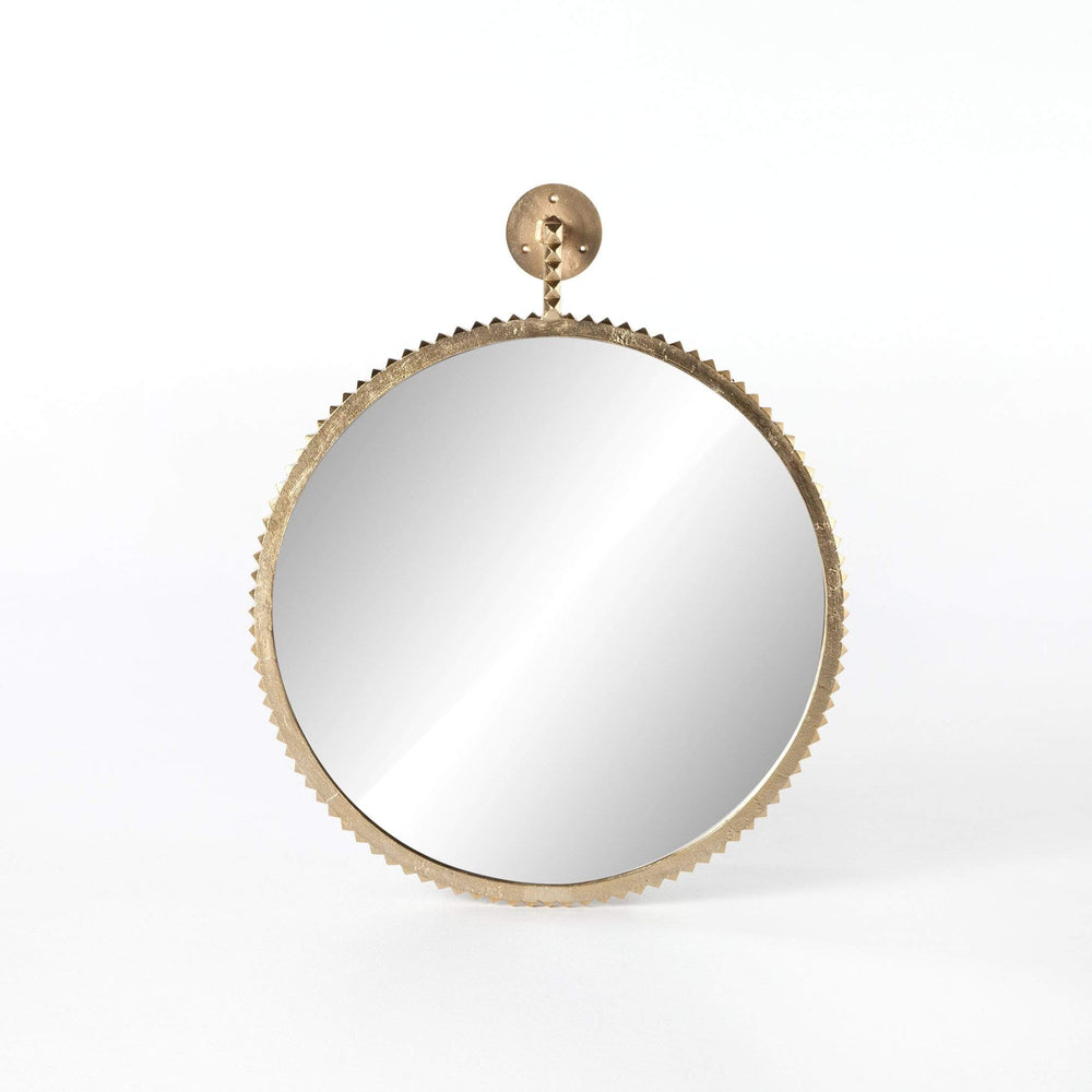 Cru Large Mirror, Aged Gold - Accessories - High Fashion Home