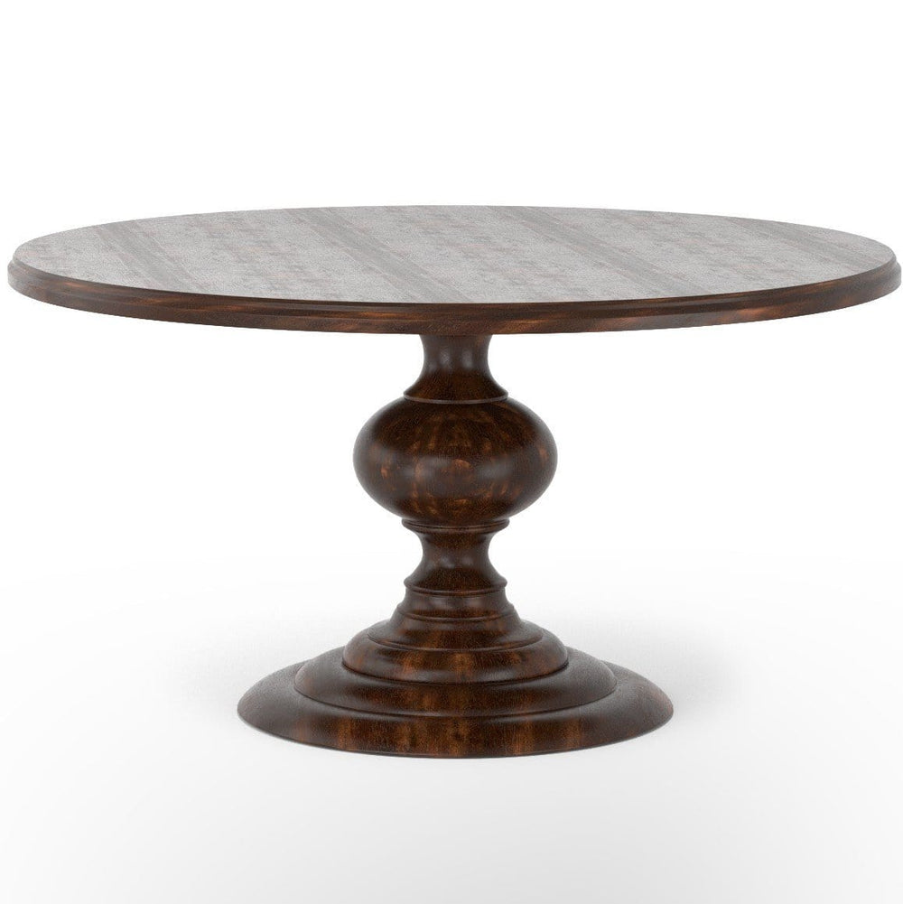 Magnolia Dining Table, Dark Oak - Modern Furniture - Dining Table - High Fashion Home