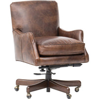 Imperial Empire Tilt Swivel Leather Chair - Furniture - Office - Chairs