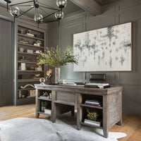 Irish Coast Desk, Black Olive - Furniture - Office - Desks