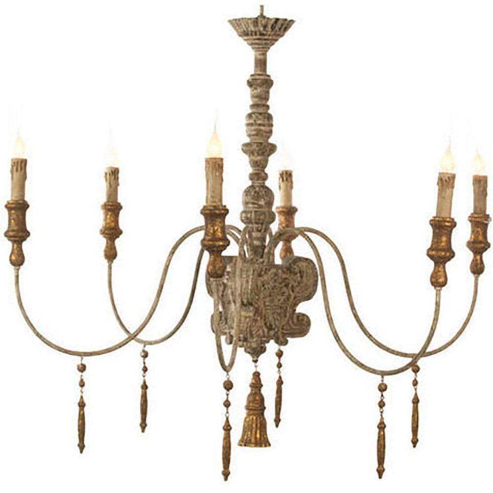Italian Chandelier - Room Ideas - Dining Room