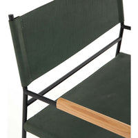 Jack Leather Chair, Emerald
