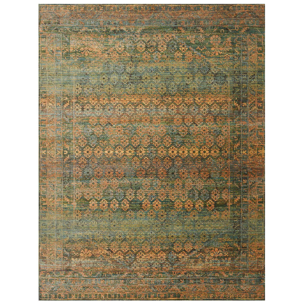 Loloi Rug Javari JV-03 Lagoon/Fiesta - Rugs1 - High Fashion Home