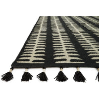 Loloi Rug Kahelo KH-02 Black/Grey - Accessories - Rugs - Loloi Rugs