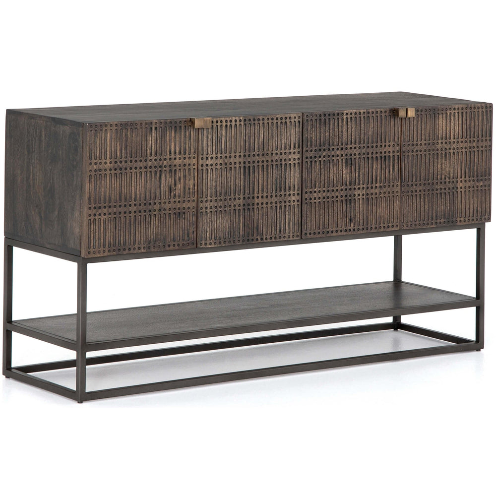 Kelby Small Media Console - Furniture - Accent Tables - High Fashion Home
