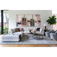Bloquer En Blush II Framed - Accessories Artwork - High Fashion Home