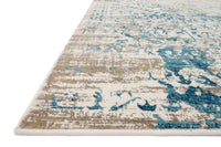 Loloi Rug Kingston 05 Ivory/Blue - Accessories - Rugs - Loloi Rugs