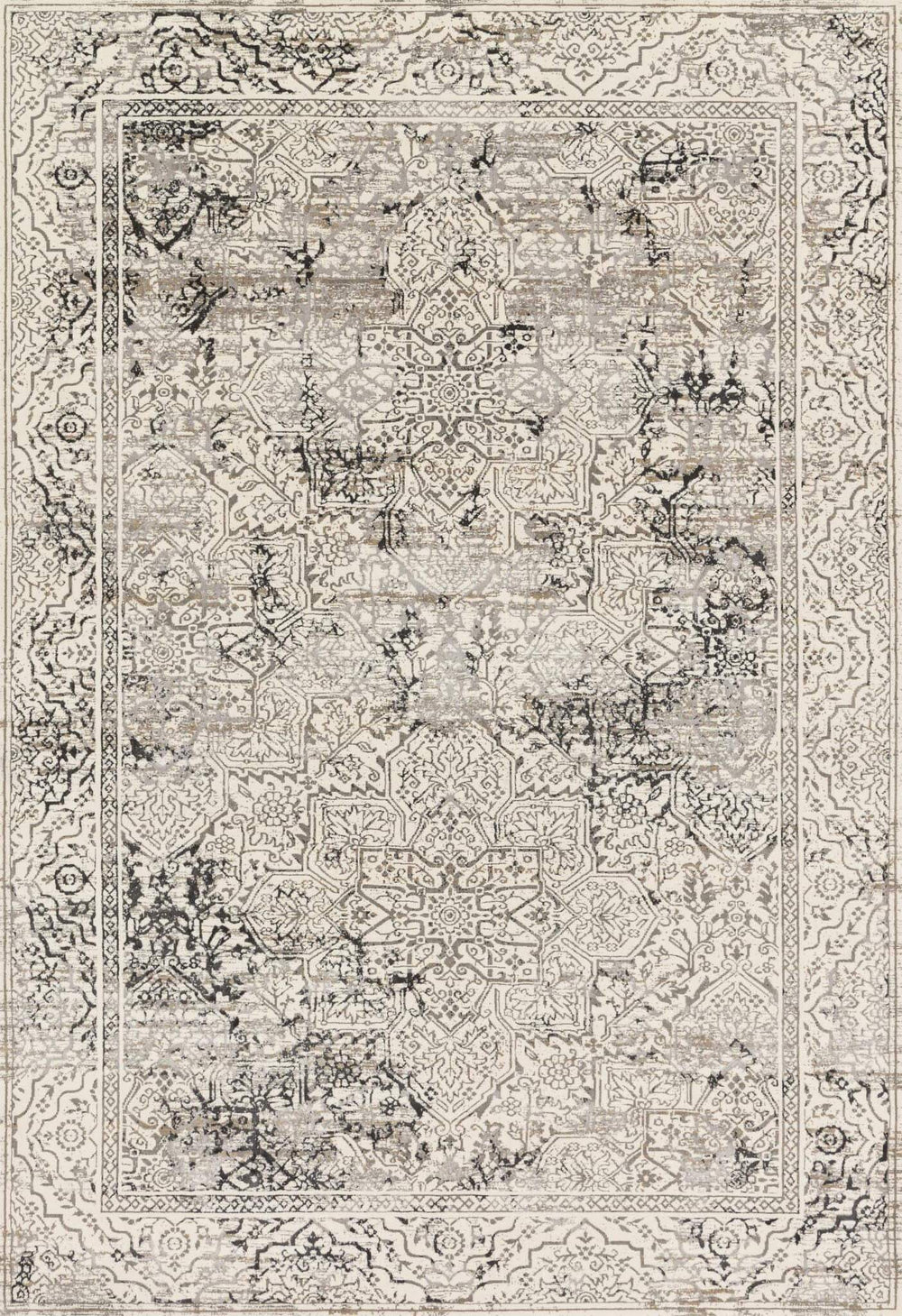 Loloi Rug Kingston KT-06 Ivory/Grey - Accessories - Rugs - Loloi Rugs