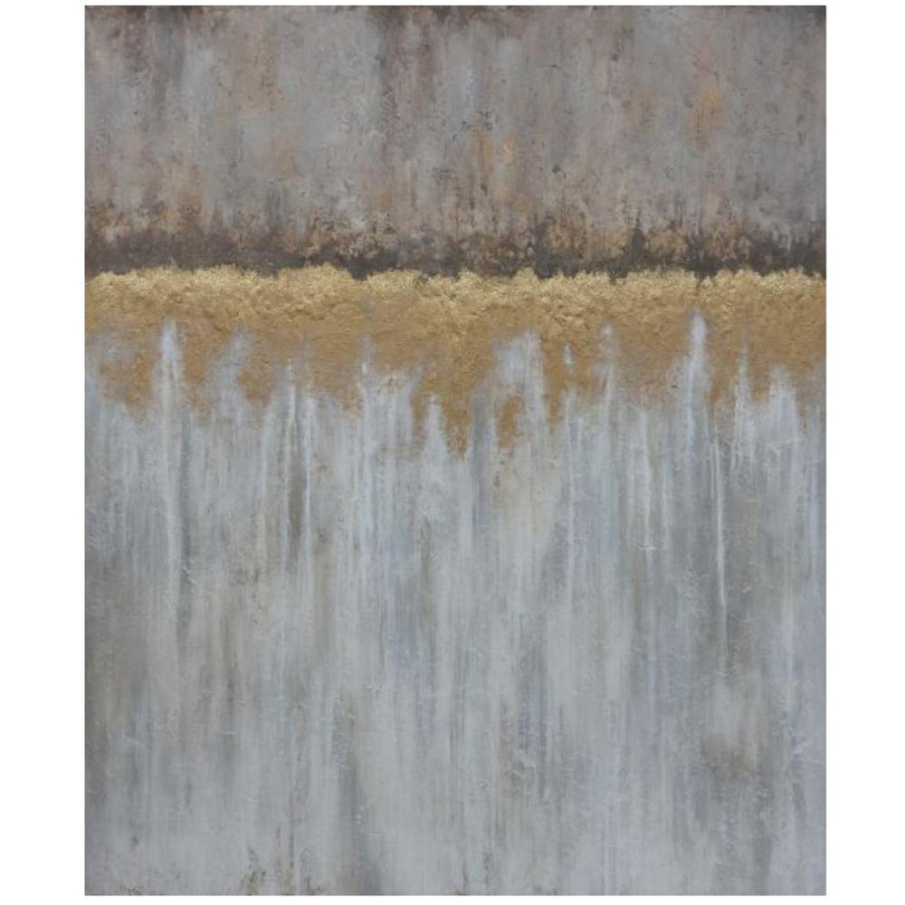 Lake in Autumn (Glitter) - Accessories - Canvas Art - Abstract
