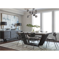 Soli Dining Chair, Black - Furniture - Dining - High Fashion Home