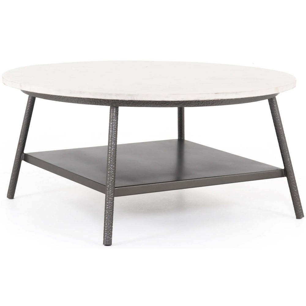 Lark Round Coffee Table - Modern Furniture - Coffee Tables - High Fashion Home