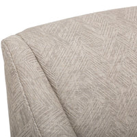 Lark Swivel Glider Chair, 100253-90 - Furniture - Chairs - Fabric