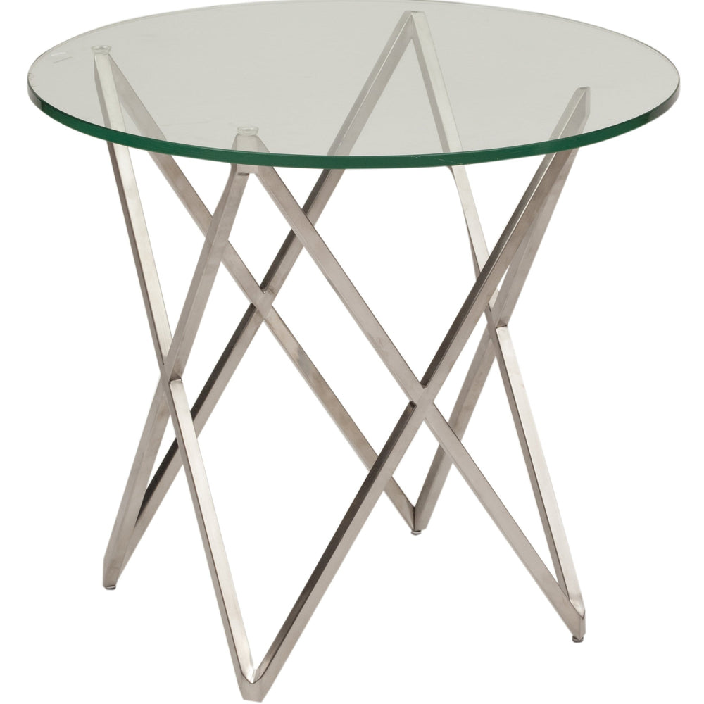 Lattice Side Table - Furniture - Nuevo Living