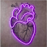 LED Neon Heart - Lighting - High Fashion Home
