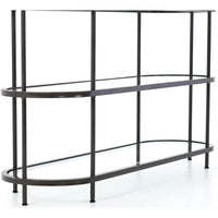Lila Media Console - Furniture - Accent Tables - High Fashion Home