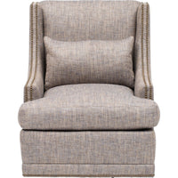 Lindsay Swivel Chair - Furniture - Chairs - Fabric