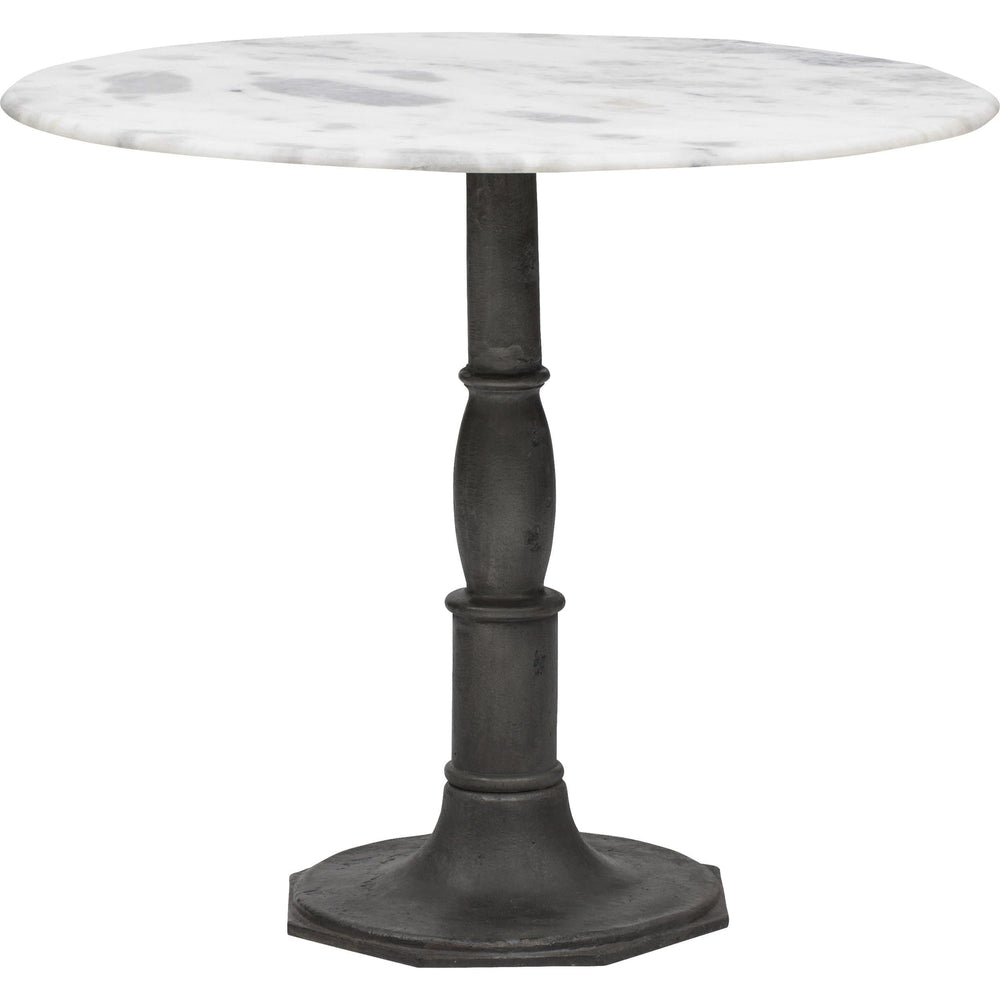 Lucy Bistro Table, Carbon Wash - Furniture - Dining - High Fashion Home