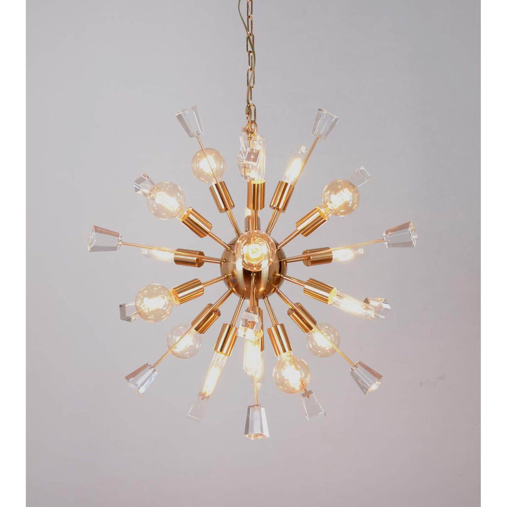 Luna Chandelier - Lighting - High Fashion Home