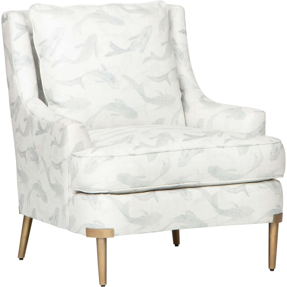 Lyra Chair, Seafoam - Modern Furniture - Accent Chairs - High Fashion Home