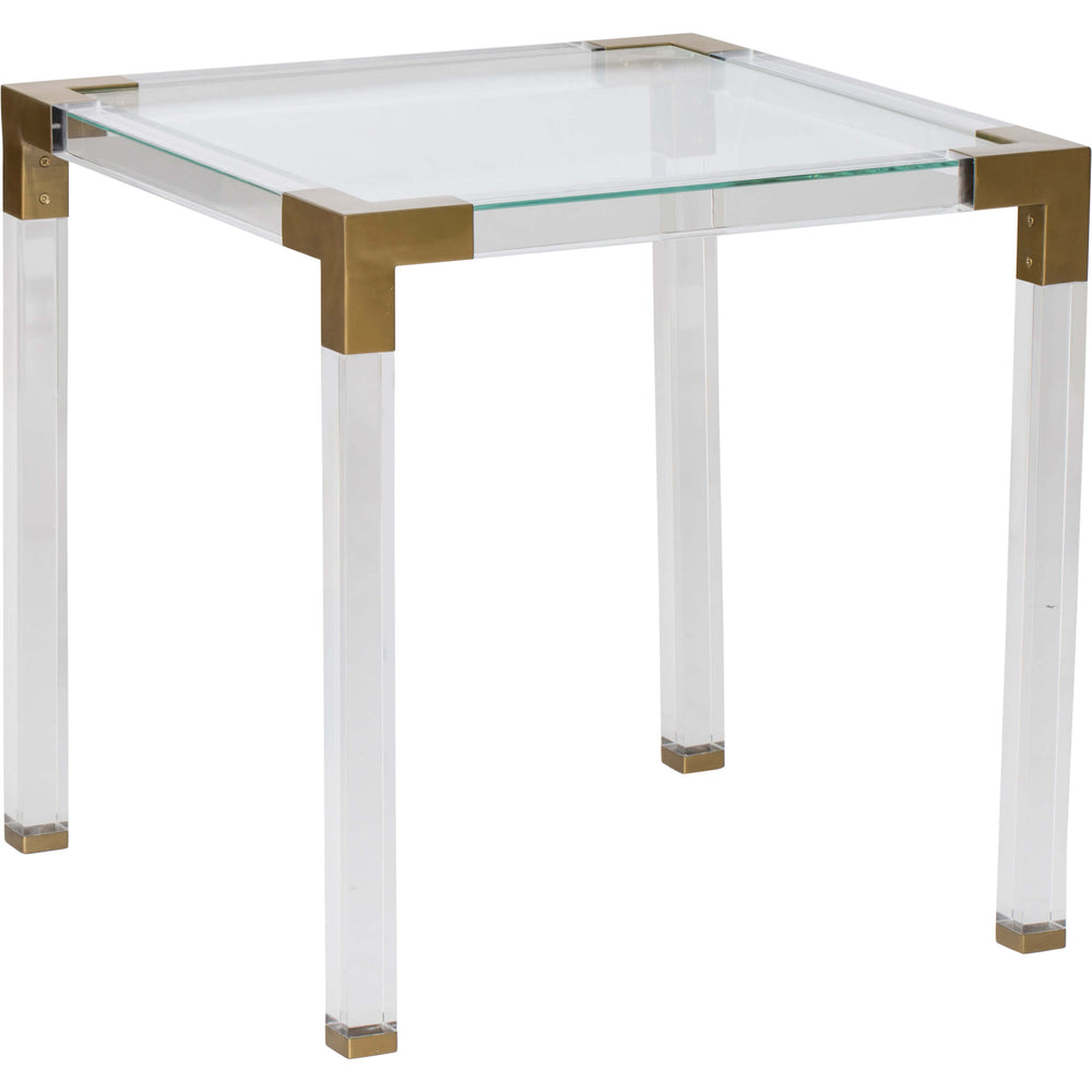 Maci Acrylic End Table - Furniture - Accent Tables - End Tables