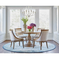 Magnolia Round Dining Table - Modern Furniture - Dining Table - High Fashion Home