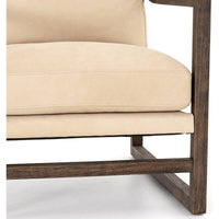 Malcolm Chair, Nubuck Sand