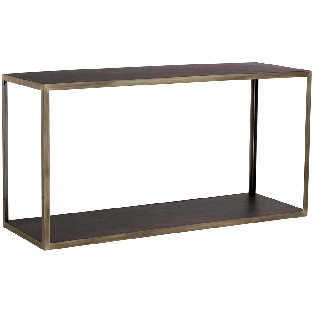 Mara Console Table, Smoked Mocha - Furniture - Sunpan