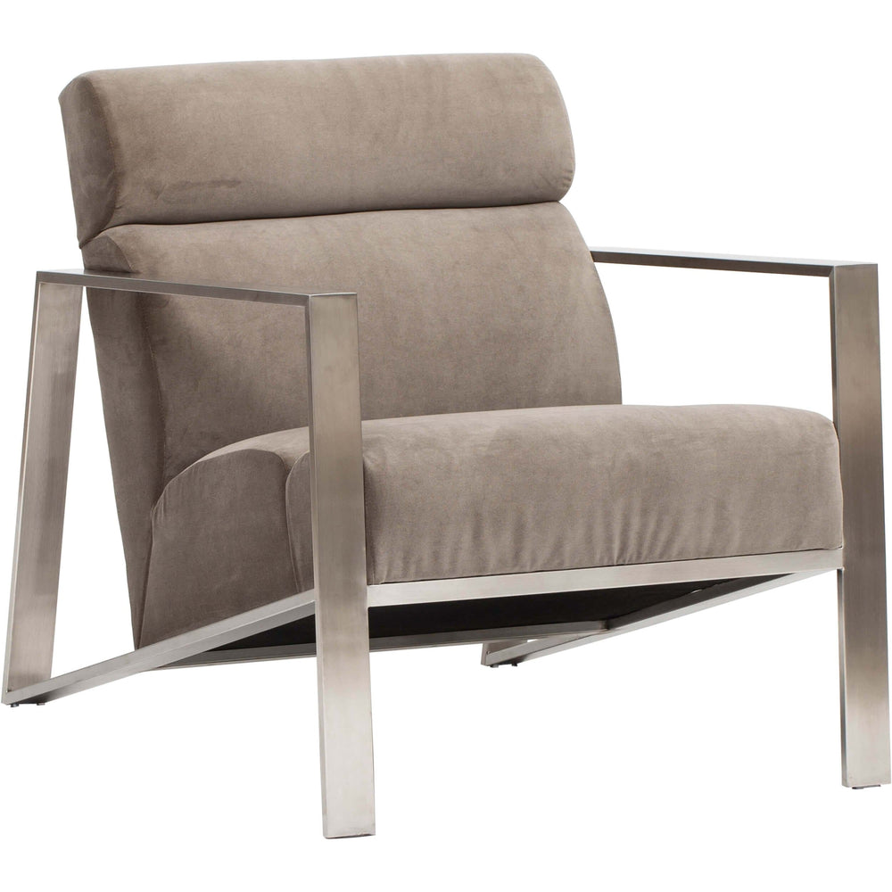 Marco Chair, Taupe - Modern Furniture - Accent Chairs - High Fashion Home
