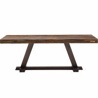 "Max 84"" Dining Table - Modern Furniture - Dining Table - High Fashion Home"