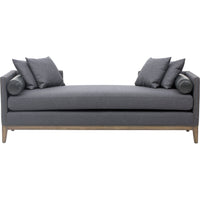 Mercury Double Chaise, Charcoal - Furniture - Sofas - High Fashion Home