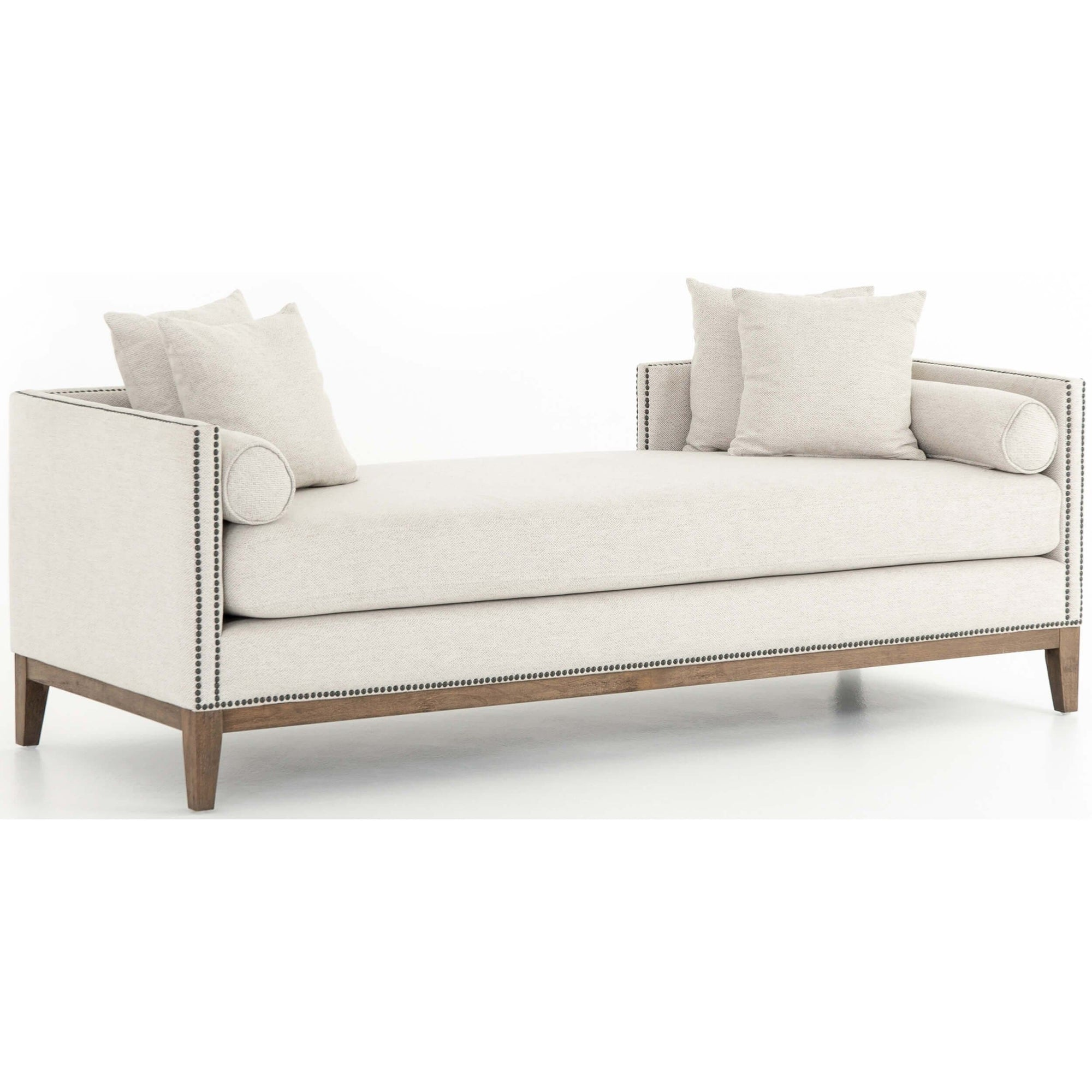 Remarkable Mercury Double Chaise Noble Platinum High Fashion Home Evergreenethics Interior Chair Design Evergreenethicsorg