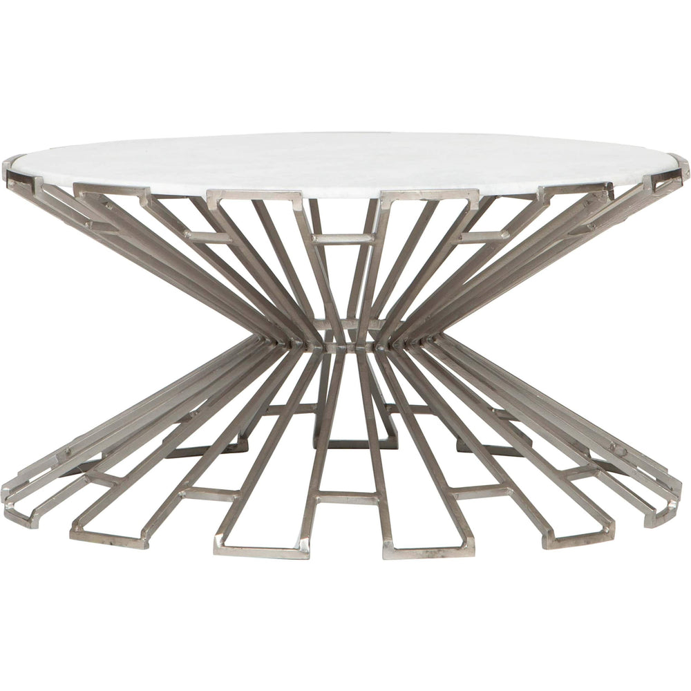 Metal Marble Cocktail Table