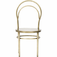 Metz Chair, Brass - Furniture - Dining - Chairs & Benches