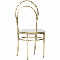 Metz Chair, Brass - Furniture - Dining - High Fashion Home