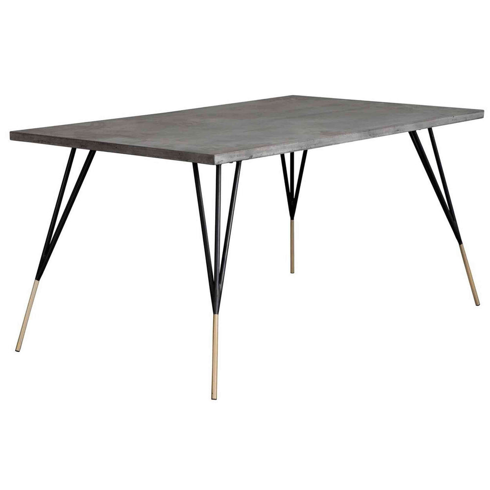 "Midori Dining Table, Rectangular, 59"" - Furniture - Dining - High Fashion Home"