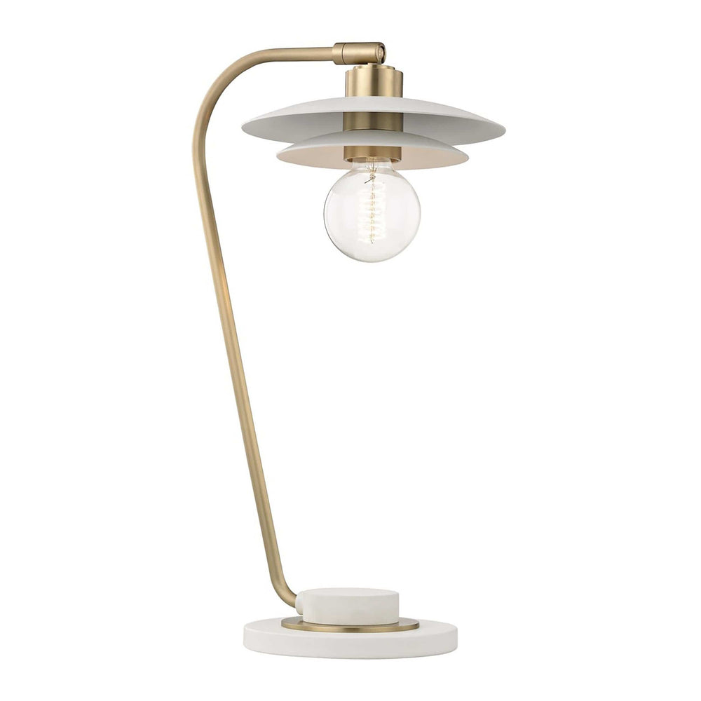 Milla Table Lamp, Aged Brass - Lighting - High Fashion Home