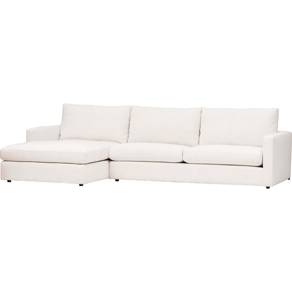 Miller Sectional, Nomad Snow - Furniture - Sofas - High Fashion Home