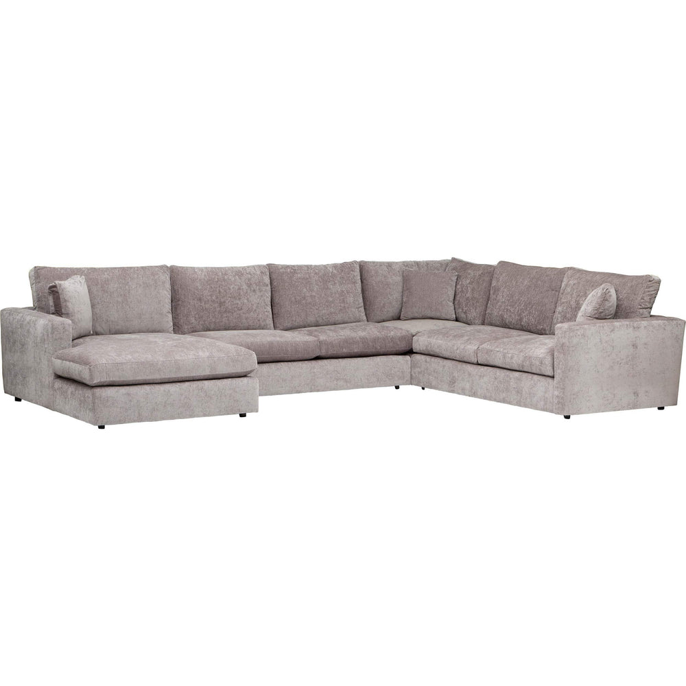 Miller Sectional, Virgo Linen