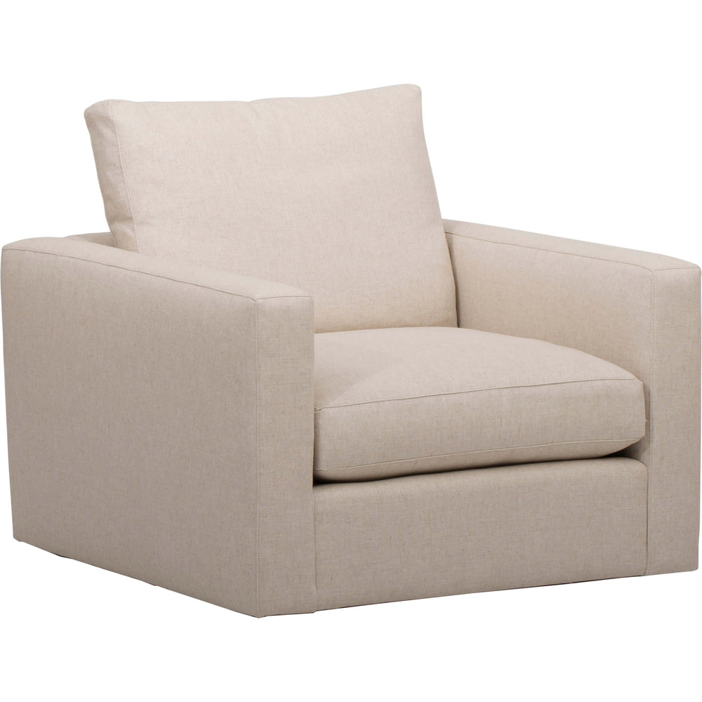 Miller Swivel Chair, Crevere Cream - Furniture - Chairs - Recliners, Swivel, Gliders