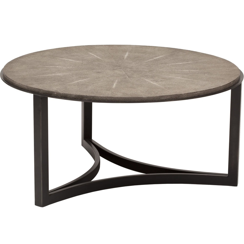 Niko Shagreen Cocktail Table - Furniture - Accent Tables - Coffee Tables