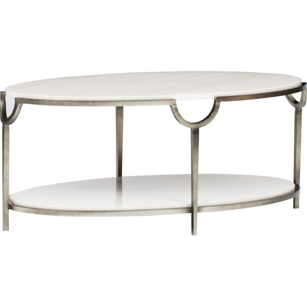 Morello Oval Cocktail Table - Furniture - Accent Tables - Coffee Tables