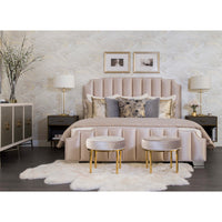 Coin Duvet Set, Gold Pumice - Accessories - High Fashion Home