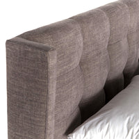 Newhall Bed, Harbor Grey - Modern Furniture - Beds - High Fashion Home