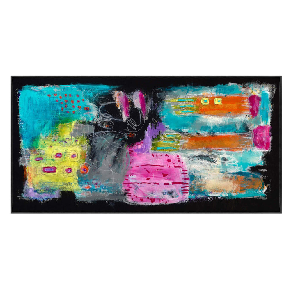 Night at Carnival  - Accessories - Canvas Art - Abstract
