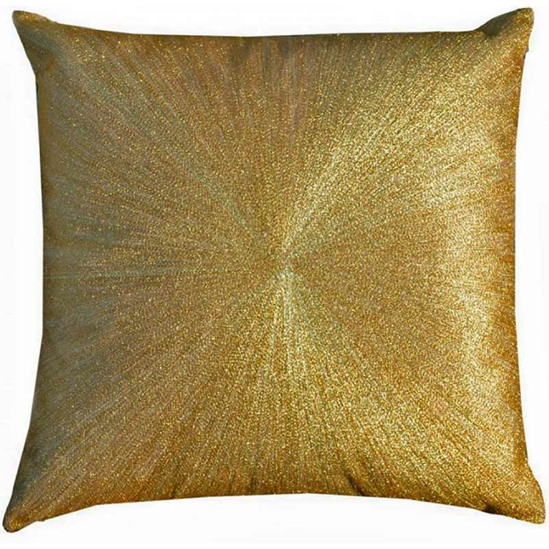 Cloud 9 Stone Nimbus Pillow, Gold - Accessories - High Fashion Home