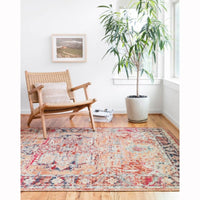 Loloi Rug Nour NU-01, Lava/Navy - Accessories - Rugs - Loloi Rugs