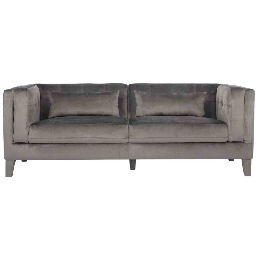 Zander Sofa, Fossil Grey - Modern Furniture - Sofas - High Fashion Home